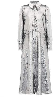 Ganni Sequined midi dress