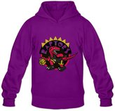 Enlove Toronto Raptors Thin 100% Cotton Hoodies For Men Size M Without Pockets