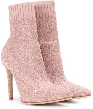 Gianvito Rossi Fiona 105 boucle ankle boots