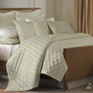Barbara Barry Glamour Quilt - Green Tea