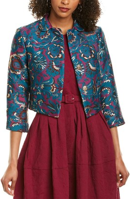 Samantha Sung Madison Silk Jacket