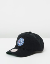 Mitchell & Ness Philly 76ers Washed Cotton Strapback