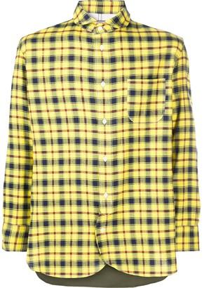 Junya Watanabe Check Button-Up Shirt