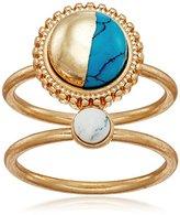 Danielle Nicole Half Moon Ring, Size 7