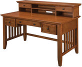 JCPenney Home Styles Pan-American Executive Desk and Hutch