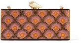 Kotur Empire Levin Printed Acrylic Clutch - Pink