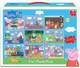 Peppa Pig Jumbo Games 9 in 1 Jigsaw Puzzle