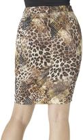 Shape Fx Leopard Naomi Skirt