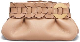 Chloé Darryl Small Braided Ring Clutch Bag