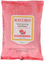 Burt's Bees Women's Pink Grapefruit Facial Cleansing Towelettes