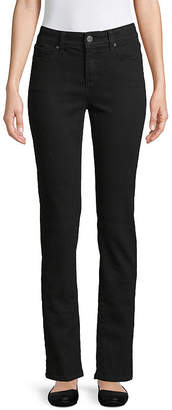 ST. JOHN'S BAY Secretly Slender Straight-Leg Jeans