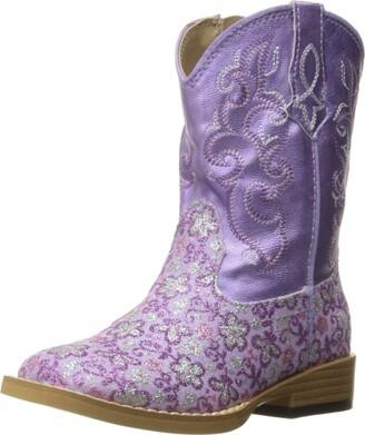 Roper Girls Lavender Western Boot