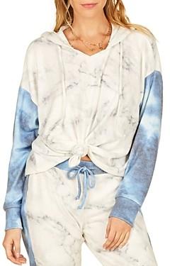 Vintage Havana Hacci Tie Dye Hooded Sweatshirt