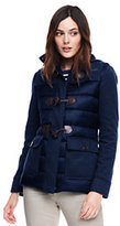 Lands' End Women's Tall Hybrid Duffle Coat-Slate Gray