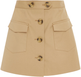 RED Valentino Micro Canvas Skort