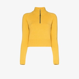 By Any Other Name High Neck Zipped Cashmere Sweater