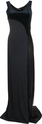 Gianfranco Ferré Pre-Owned 1990s Side Slit Panelled Dress