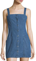 The Fifth Label Vagabond Snap-Front Denim Dress
