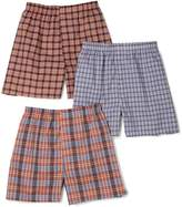Fruit of the Loom Men's Woven Boxers (Colors/Patterns Will Vary)