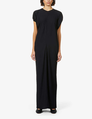 The Row Fer crepe maxi dress