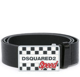 DSQUARED2 Speed buckle belt - men - Calf Leather - 85