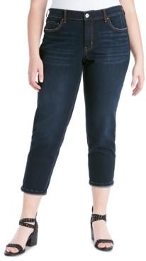 Jessica Simpson Trendy Plus Size Mika Best Friend Slouchy Skinny Jeans