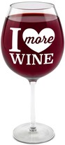"Unbranded ""I Love More Wine"" Glass"