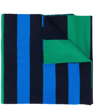 Pringle Rugby striped scarf