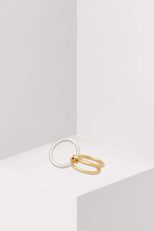 Charlotte Chesnais Three Lovers ring