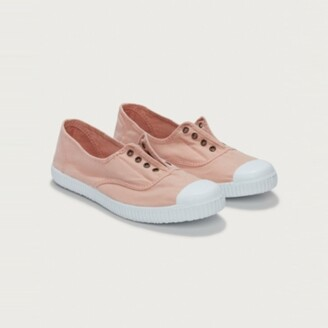 The White Company Victoria Dora Plimsolls, Pink, 36