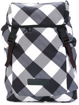 adidas by Stella McCartney checked backpack