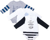 Burberry three-piece gift set - kids - Cotton - 1 mth