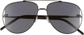 Christian Dior Diorscale 58mm Polarized Aviator Sunglasses