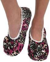 Womens Touch Me Snoozies Ballerina Slippers with Comfort Fit Split Sole XL 11/12