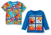Sesame Street Toddler Boys' Long Sleeve T-Shirt - Blue