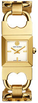 Tory Burch Golden Double T Link Bracelet Watch