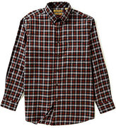 Roundtree & Yorke Gold Label Big & Tall Non-Iron Plaid Sportshirt