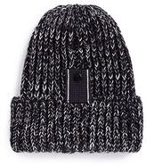 Bernstock Speirs Snap tab rib knit beanie