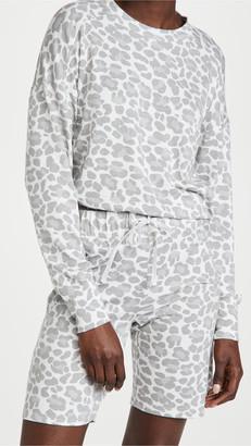 Emerson Road Crew Neck Sweatshirt & Bermuda Shorts Pajama Set