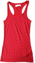 Abercrombie & Fitch Womens Tank Top Racer Back - Cute Dot Pattern (S, )