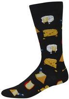 Hot Sox Cheese Graphic Socks
