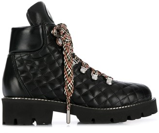 Baldinini quilted ankle boots