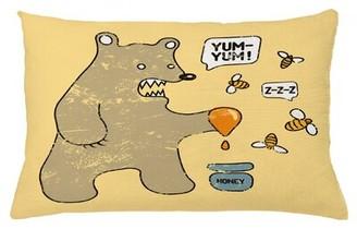"East Urban Home Cartoon Indoor / Outdoor Lumbar Pillow Cover Size: 16"" x 26"""