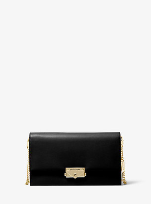 Michael Kors Cece Large Leather Convertible Crossbody Bag