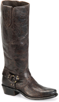 Sonora Brown London Leather Cowboy Boot