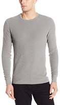 Lucky Brand Men's Long Sleeve Waffle Crew