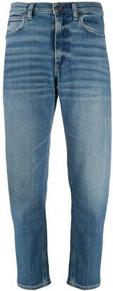 Polo Ralph Lauren High-Rise Cropped Jeans