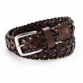 Izod Braided Leather Belt - Boys
