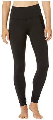 Bloch Allonge Suprima High-Rise Leggings (Black) Women's Casual Pants