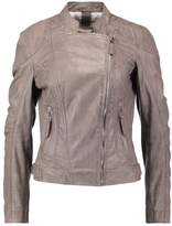 Gipsy Leather jacket grey